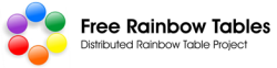 Free Rainbow Tables